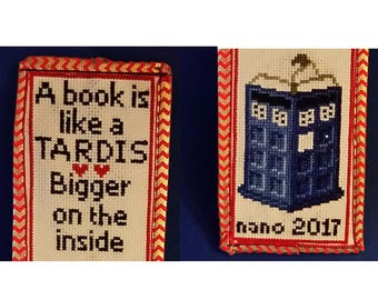 """Doctor Who """"Bigger on the inside"""" Book mark"""
