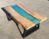 Resin River Coffee Table...