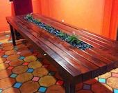 Air Plant/Redwood Table b...