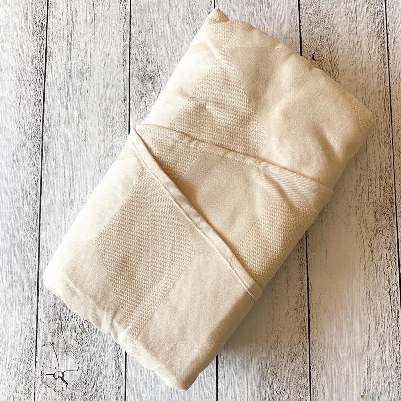 2226e22fde02f Size 4 custom dyed woven wrap - Ankalia Textiles Natty Rubix Egyptian cotton