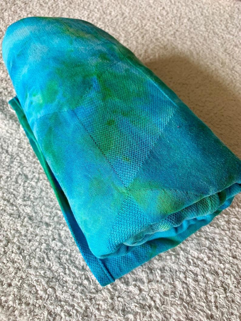 2c673a40e33b9 Woven Wrap - Size 4 (3.7m) Hand Dyed Ankalia Textiles Natty Rubix Egyptian  Cotton