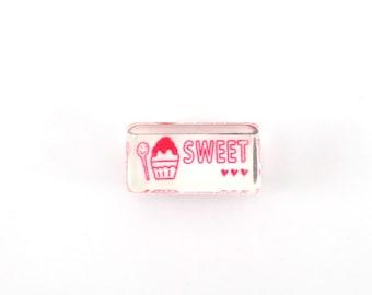 Kawaii ice cream stamp - sweet stamp - spoon stamp - dessert stamp