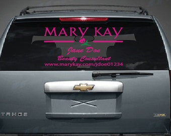 Personalized Mary Kay Decal for your business