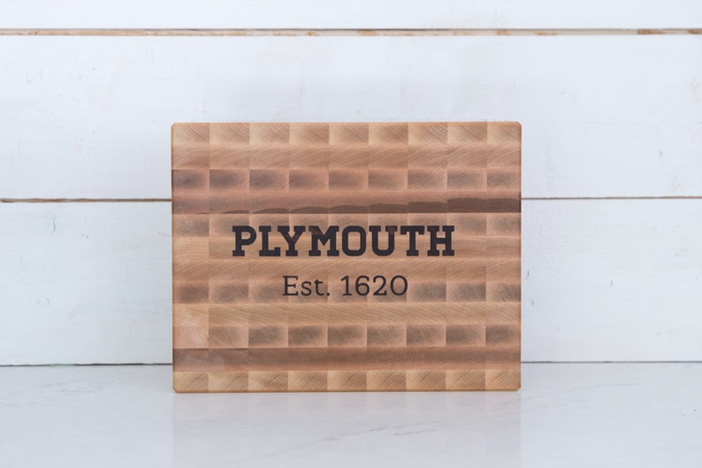 Custom City Cutting Board chopping block. Add your city and image 0