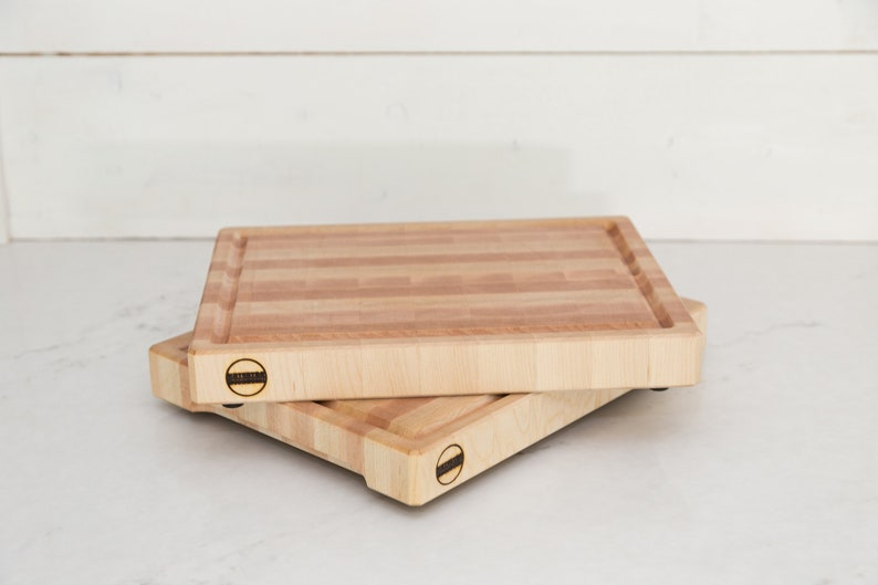 Handmade Maple Cutting Board great chopping block with the image 0