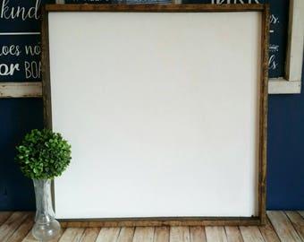 8x20 blanks framed farmhouse style wood sign black etsy