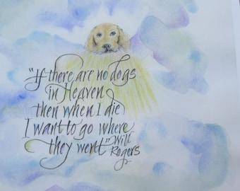 Pet Loss Pet Memorial Pet Loss Gift Dog Memorial 8 X Etsy