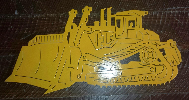 Detailed Metal Bulldozer Dozer Sign Wall Art Wall Hanging | Etsy