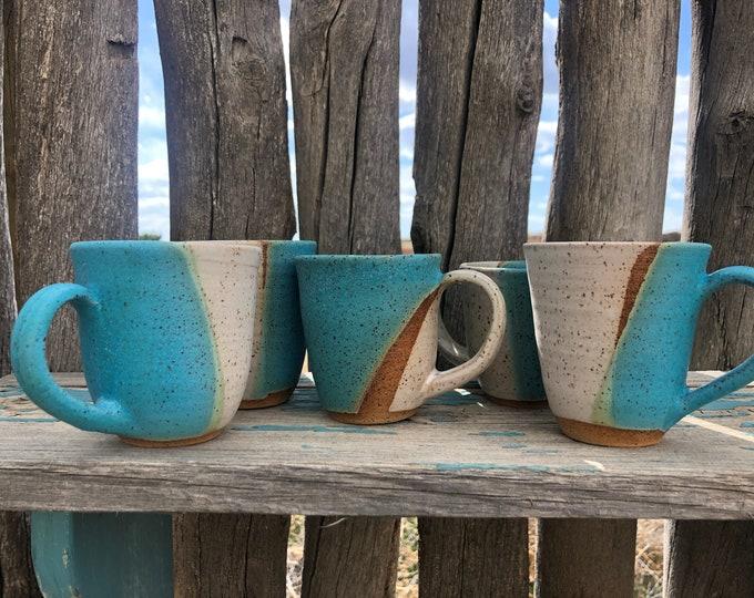 Turquoise Espresso Cups