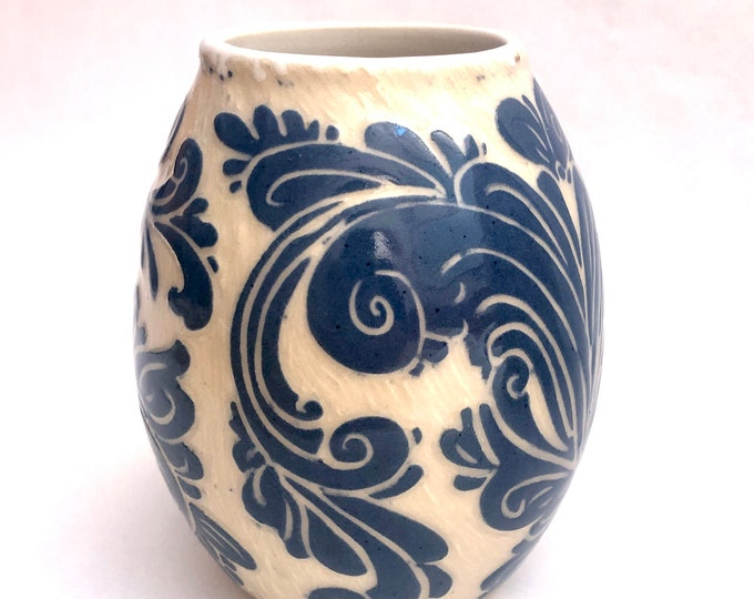 Rosemaling Vase
