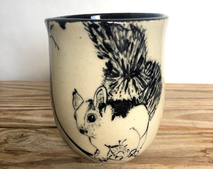 Chipmunk and Squirrel Mugs