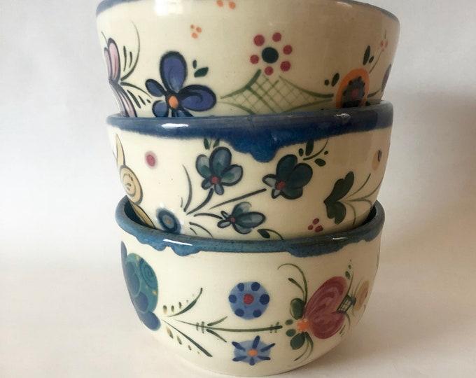 Telemark and Os Rosemaling Bowls