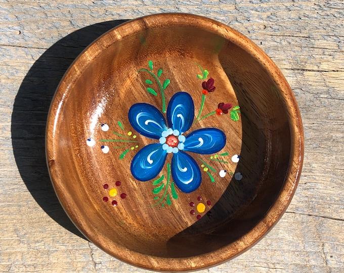 Os Flower Trinket Dish