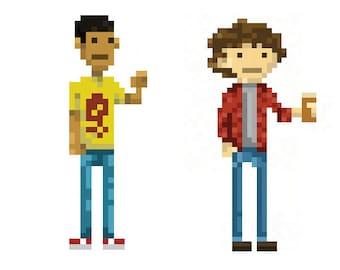 Pixel Art Etsy