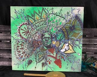 Frankenstein - canvas reproduction print