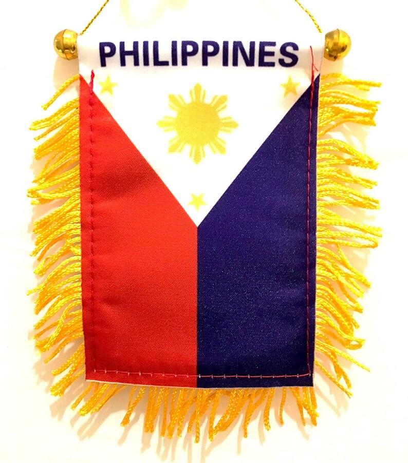 Philippines Philippines petit drapeau pour les voitures la  d1adae4ce8c