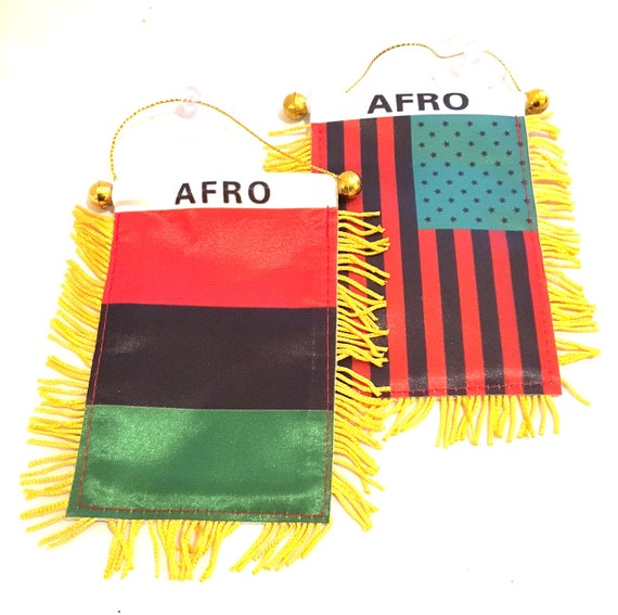 dd38e6072121 African American flags you Get Both Afro flag Designs the