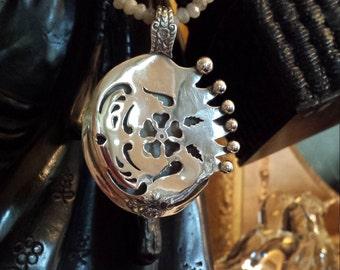 Sterling silver artist unique pendant
