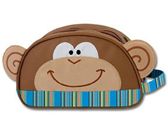 b1f5f917ac Monkey Carry All Bag Stephen Joseph Children s Overnight Travel Cute Monkey Girl  Boy Applique Bag Blue Brown Green