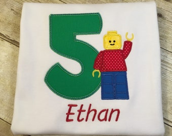Lego Birthday T-Shirt