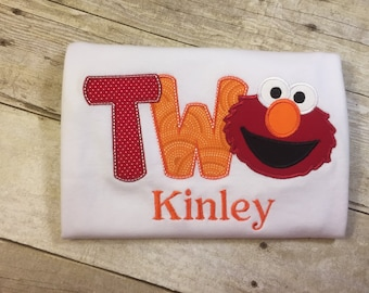 "Elmo ""Two"" Birthday T-Shirt"