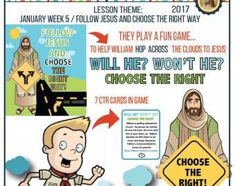 2017 January Week 5 Sharing Time Kit