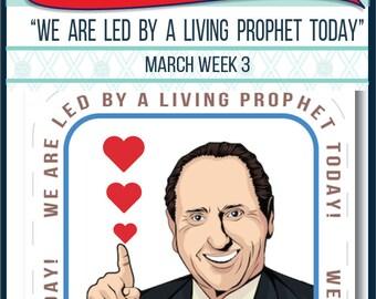 2016 - March Week 3 Sharing Time Kit