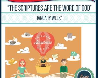 2016 - January Week 1 Sharing Time Kit
