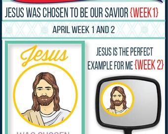 2016 - April Weeks 1 & 2 Sharing Time Kit