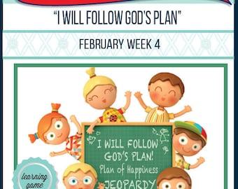 2016 - February Week 4 Sharing Time Kit