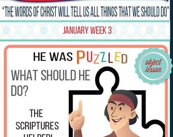 2016 - January Week 3 Sharing Time Kit