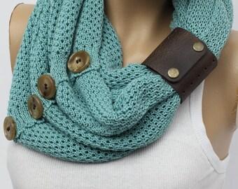 knit  circle scarf winter scarfs neck warmer cowl birthday gifts fashion scarves