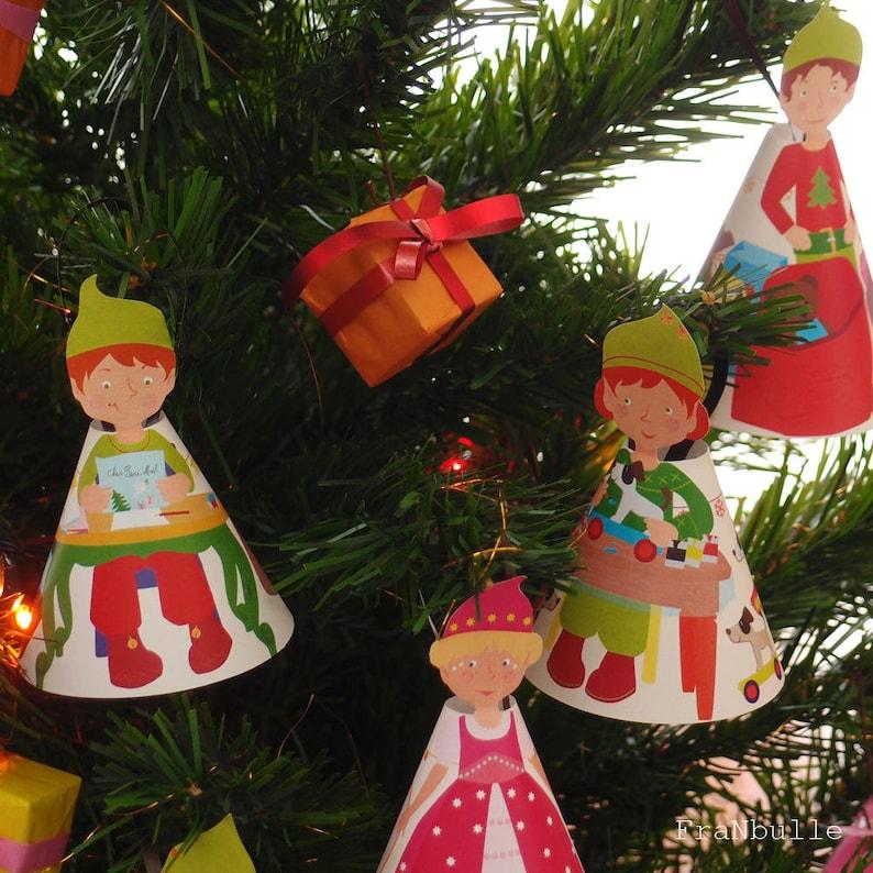 Advent calendar Christmas elves calendar Christmas elf image 0
