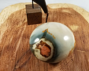 167g Polychrome Jasper Palm Stone! ~Reiki, Energy Work