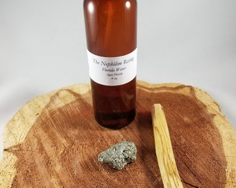 Psychic Cleanse & Protect Kit #2: Florida Water (Agua Florida), Pyrite, Palo Santo! ~Witch, Hoodoo, Conjure, Rootwork