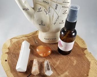 Negativity Be Gone Witch Kit, Travel Size! (Kit A) ~Mystic, Spiritualist, Reiki