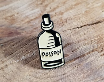 Pastel Poison Jar Enamel Pin! ~Witch, Mystic, Magick