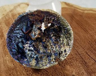 62g (2.2oz.) Bismuth Half Sphere! (Specimen B) ~Witch, Mystic, Reiki