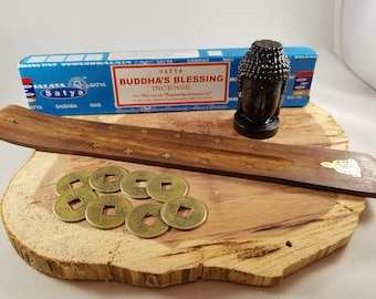 Buddha's Blessing Meditation & Manifestation Kit! ~Witch, Mystic, Buddhism, Eastern Philosophy