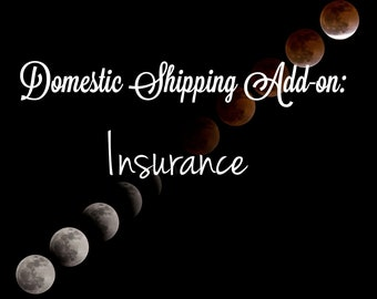 Domestic Shipping Add-on: Insurance