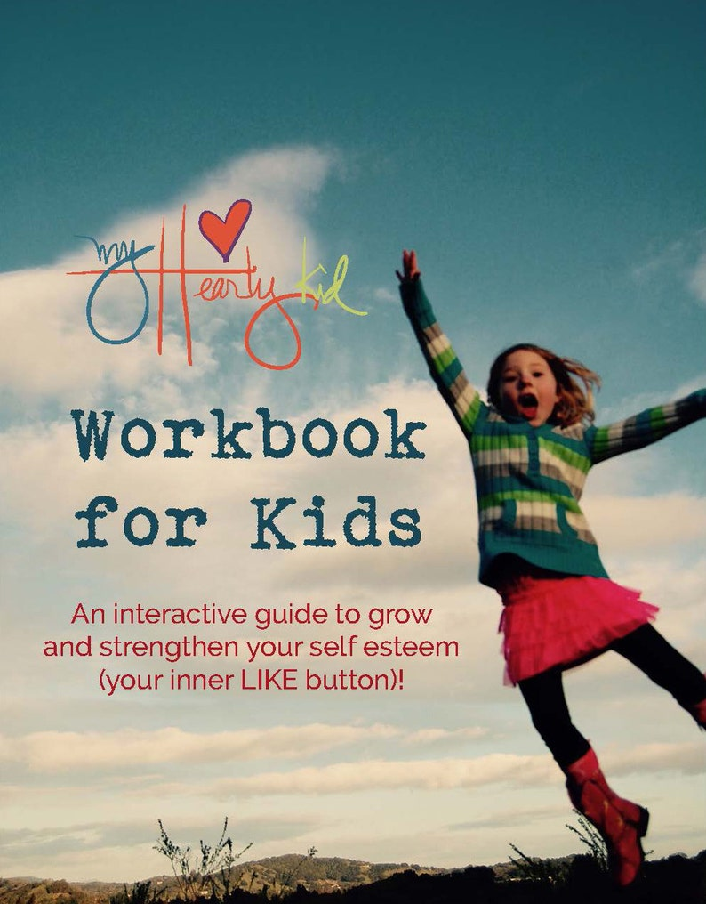 myHeartyKid workbook for kids  how to grow your inner LIKE image 0