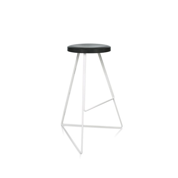 Wondrous The Coleman Stool Charcoal White Modern Stool Indoor Outdoor Winner Best Furniture By Dwell Magazine Free Shipping Caraccident5 Cool Chair Designs And Ideas Caraccident5Info