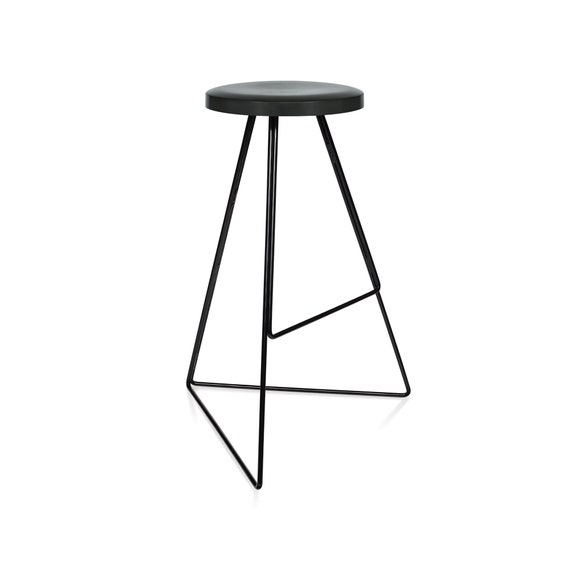 Pleasant The Coleman Stool Black Charcoal Winner Best Furniture By Dwell Magazine Modern Contemporary Bar Counter Stool Free Shipping Ibusinesslaw Wood Chair Design Ideas Ibusinesslaworg