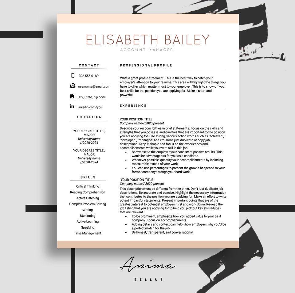 Resume Creator: Resume Cv Maker Resume Template Resume Design Cv Template