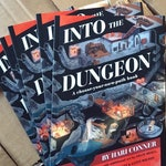 Into the Dungeon choose-your-own-path book