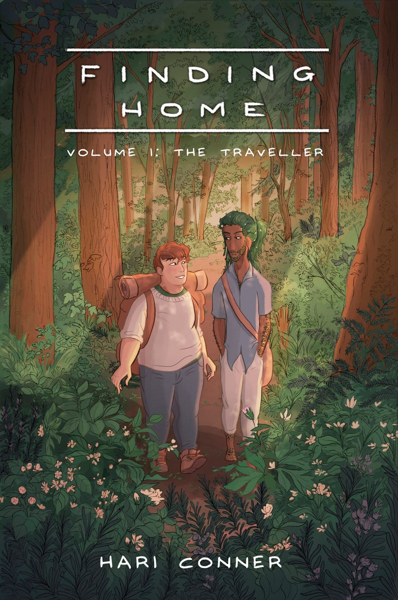Finding Home volume 1 graphic novel  award winning LGBT comic image 0