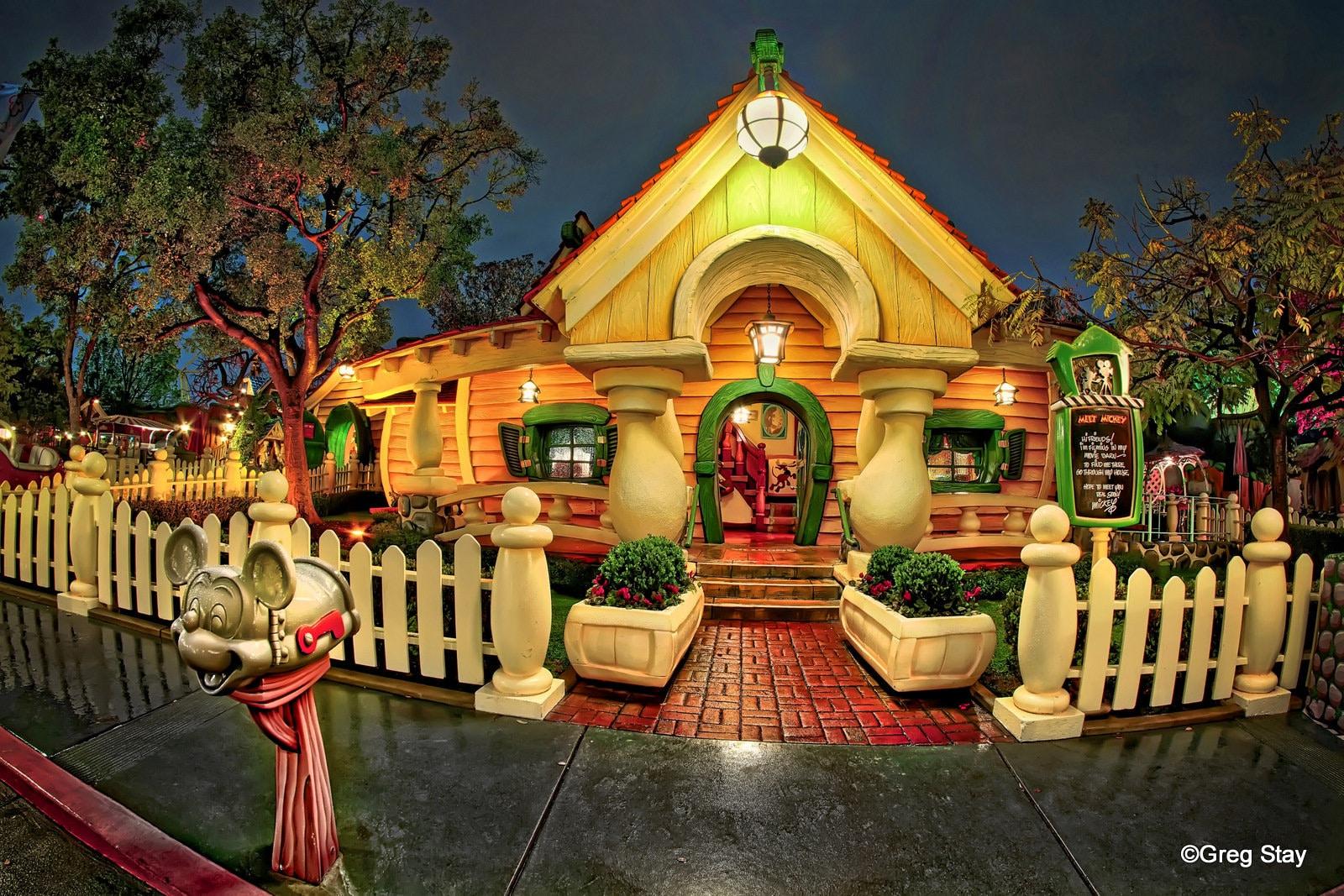 Disneyland Mickey\'s House Toontown BUY 2 GET 1 8x12 print | Etsy