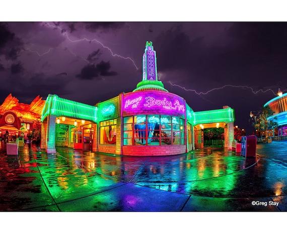 Disney California Adventure Cars Land Ramone S House Of Etsy