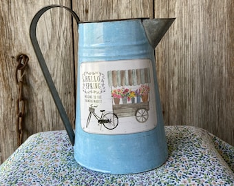 Busy Bee Hive Pitcher