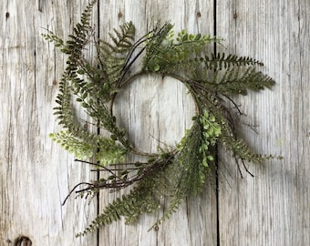 Fern Candle Ring
